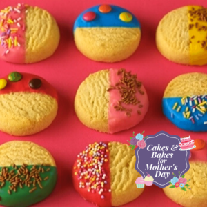 Dipped Sprinkle Biscuits Recipe