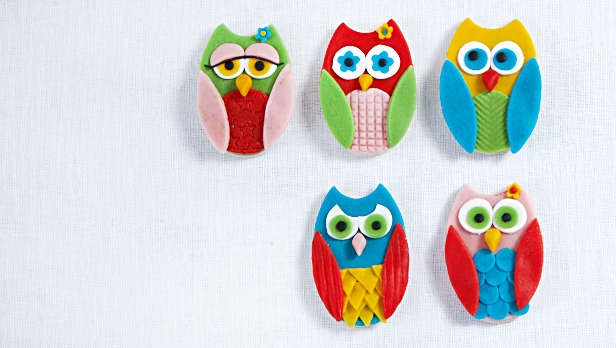 Marzipan Owl Biscuit Recipe