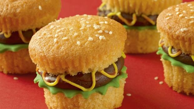 Burger Cupcakes Recipe