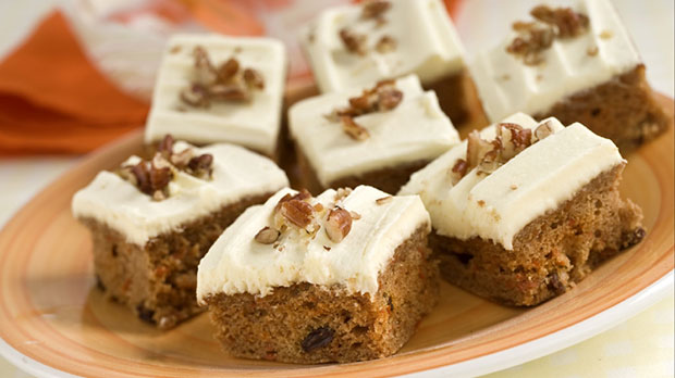 Carrot Cake Tray Bake Recipe