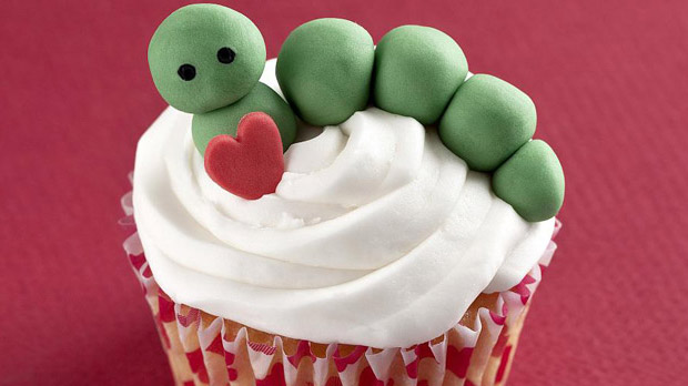 Caterpillar Cupcakes Recipe