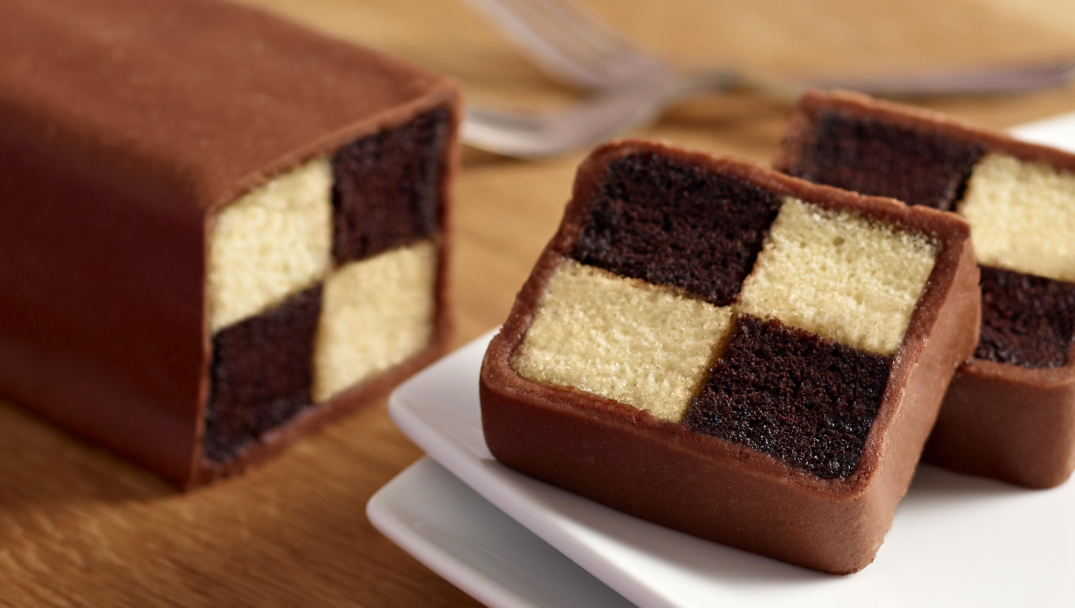 Chocolate Battenberg Recipe