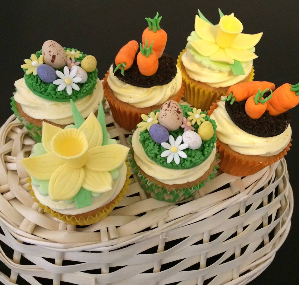 Colourful Easter Cupcakes