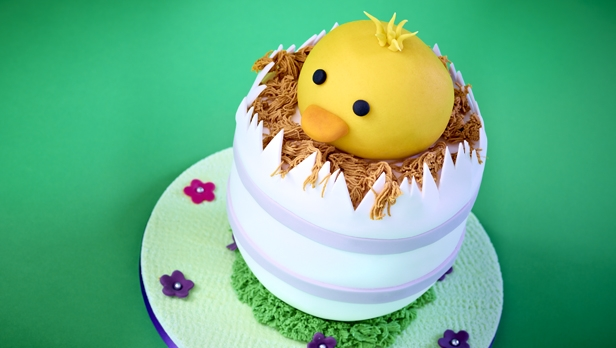 Easter Chick Cake Recipe