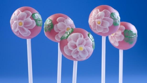 Floral Cake Pops Recipe