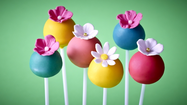 Flower Cake Pops Recipe