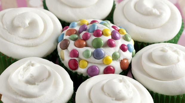 Flower Tear and Share Cupcakes Recipe
