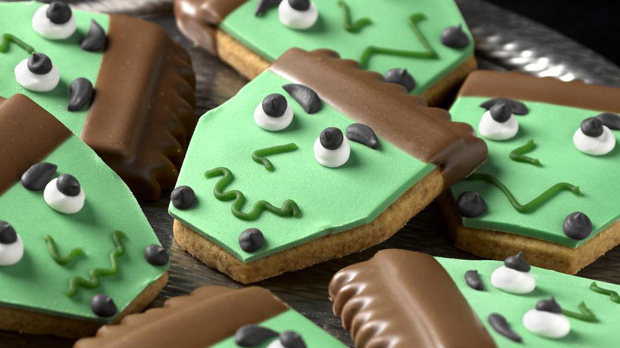 Frankenstein Biscuits Recipe