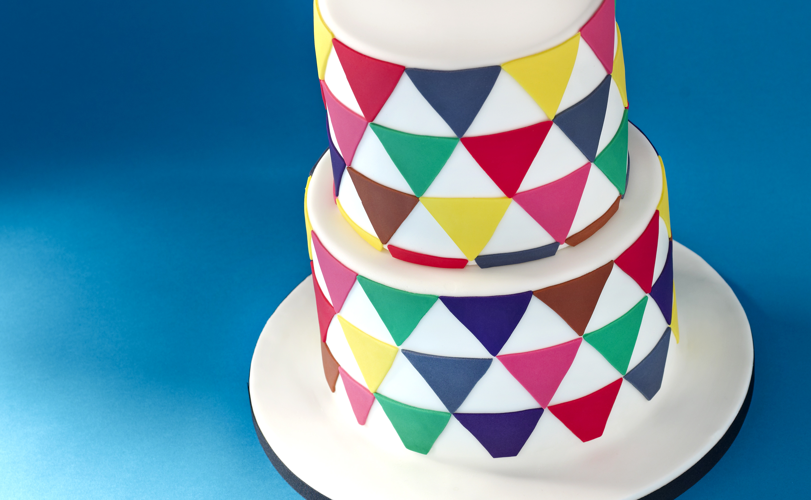 Geometric Cake Recipe
