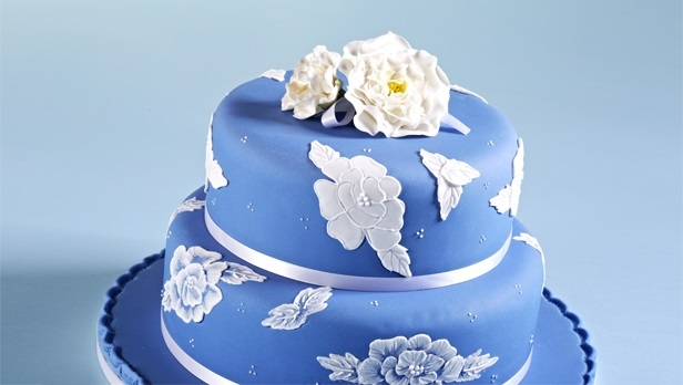 Powder Blue Lace Cake Recipe