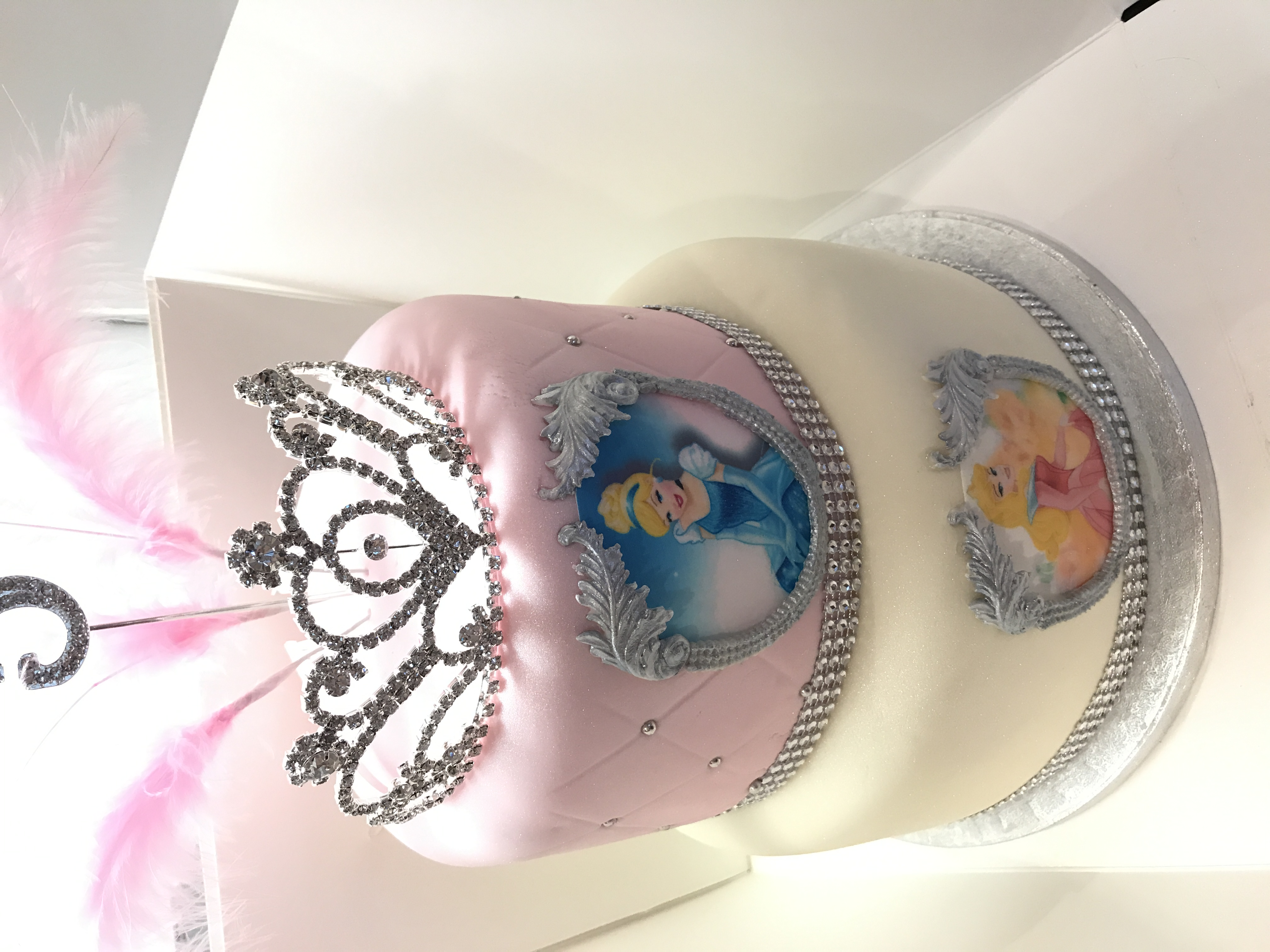 Princess Party Birthday Cake
