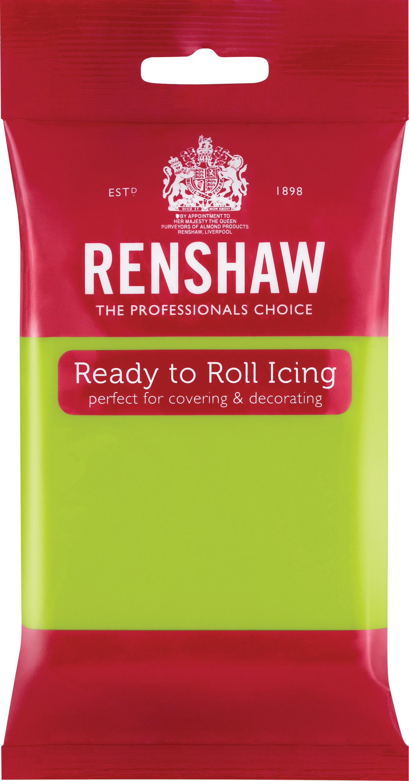 Lime Green Ready to Roll Fondant Icing