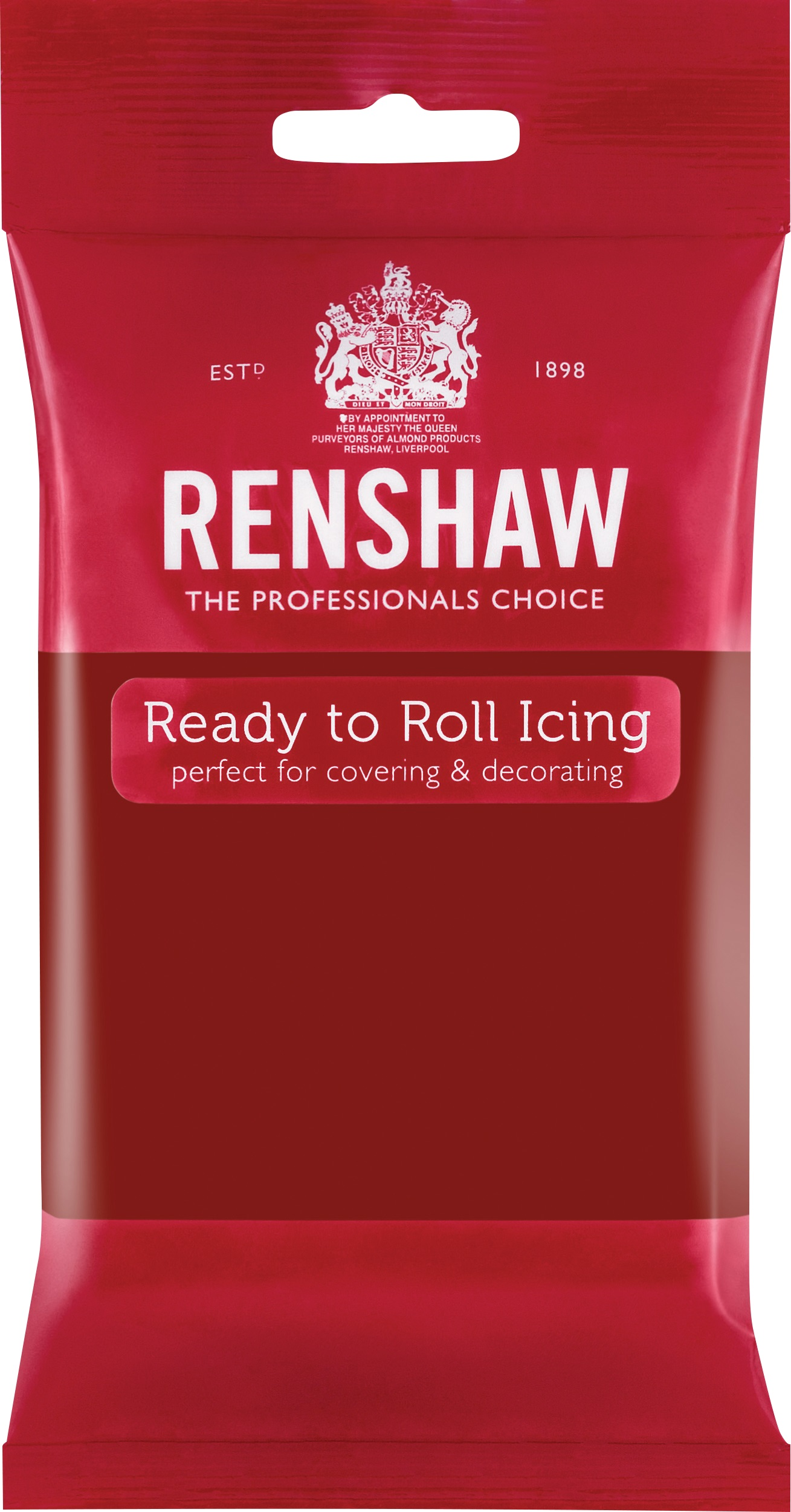 Ruby Red Ready to Roll Fondant Icing
