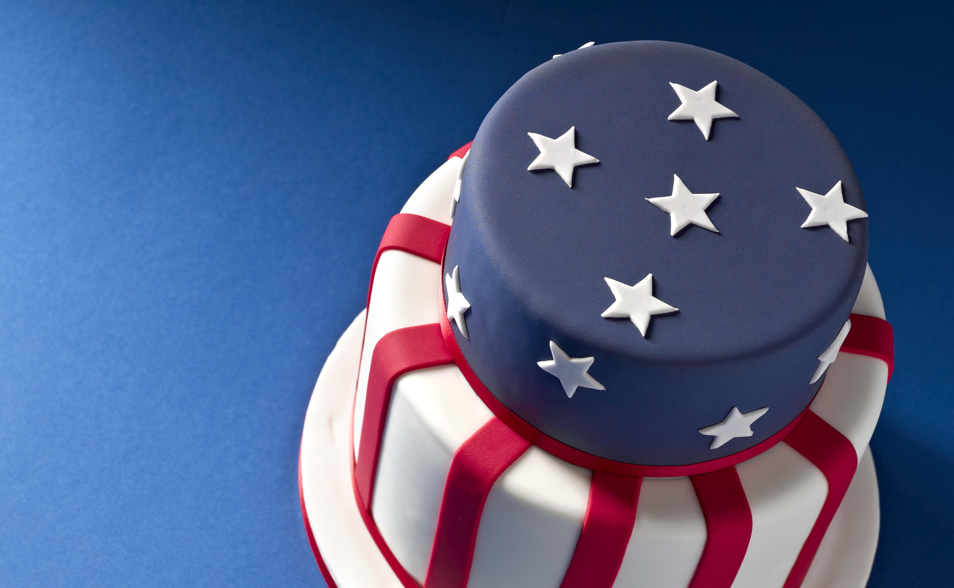 Stars and Stripes Cake Recipe