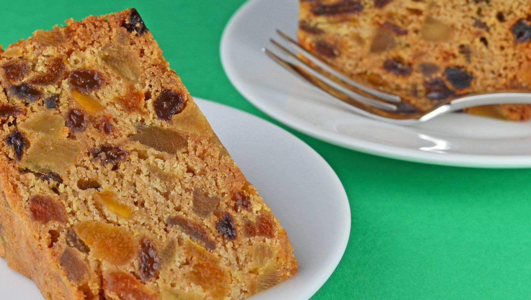 Tropical Fruit Cake Recipe