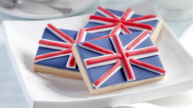 Union Jack Biscuits Recipe