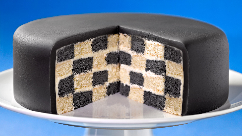 Chequerboard Cake Recipe