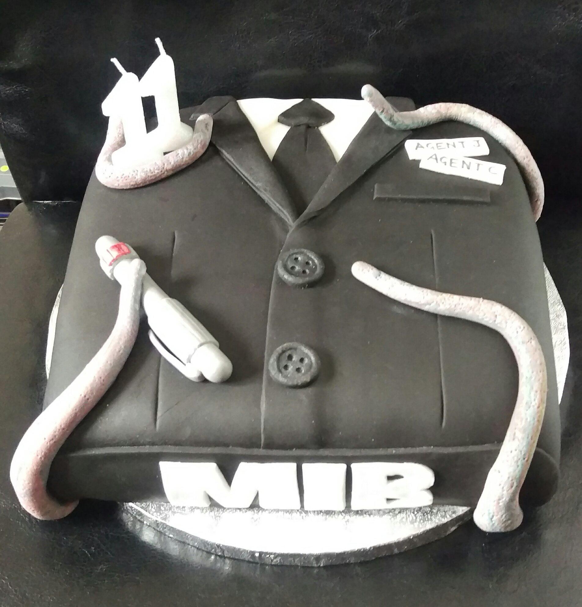 Men In Black Birthday Cake Renshaw Baking