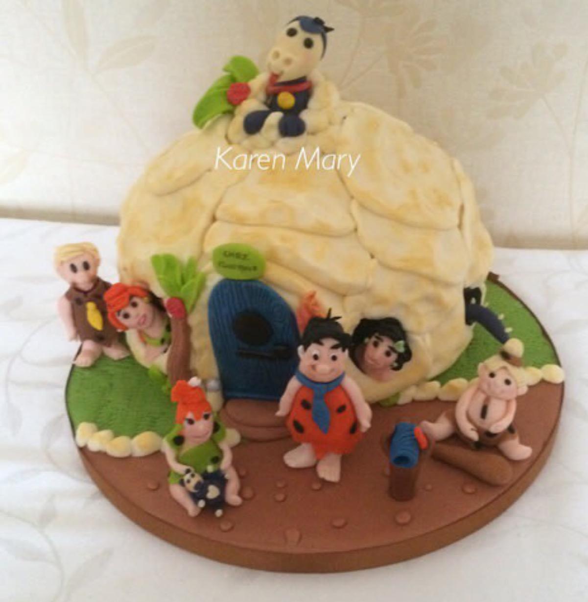 The Flintstones Cake