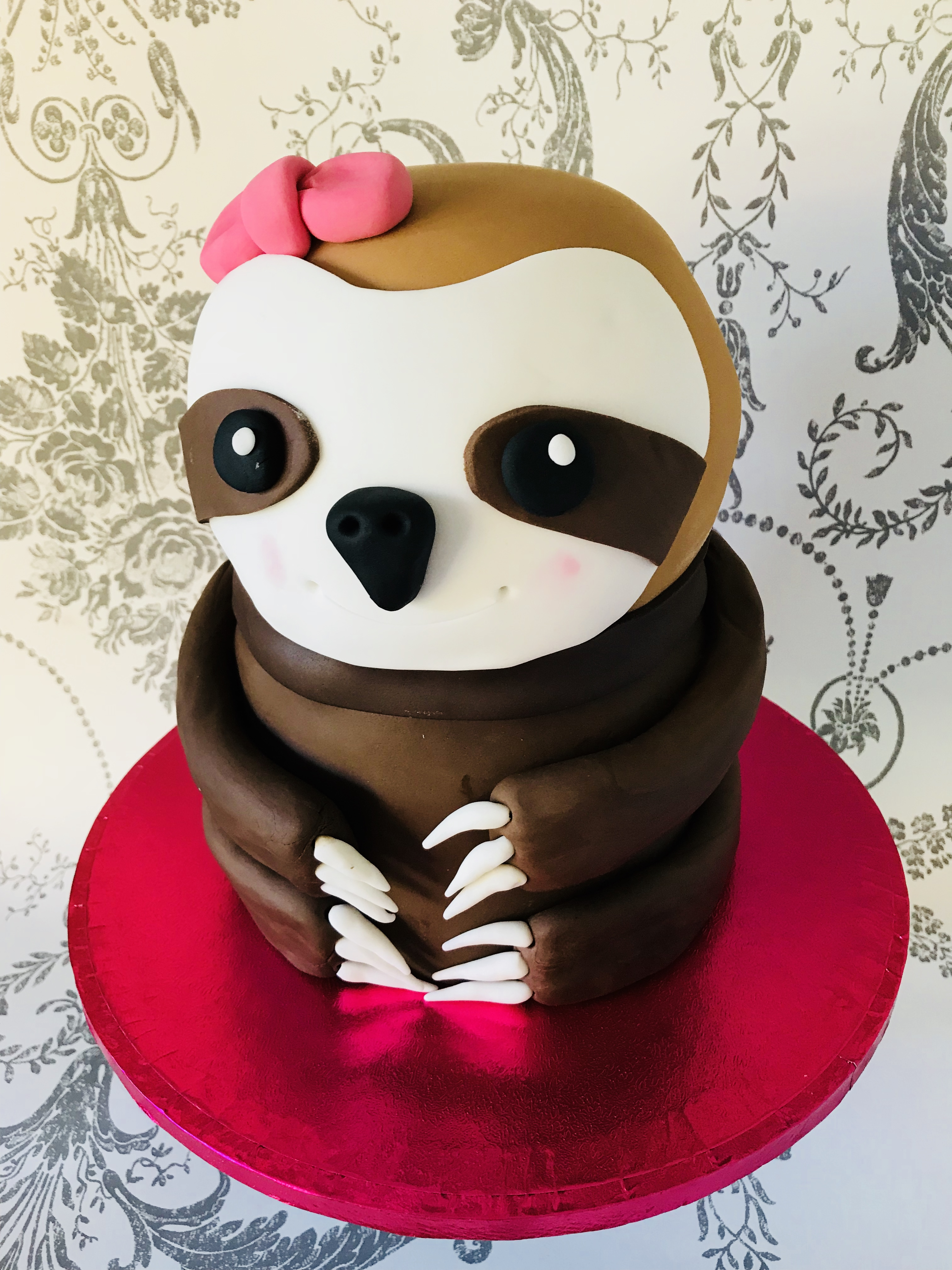 Sindy The Sloth Cake