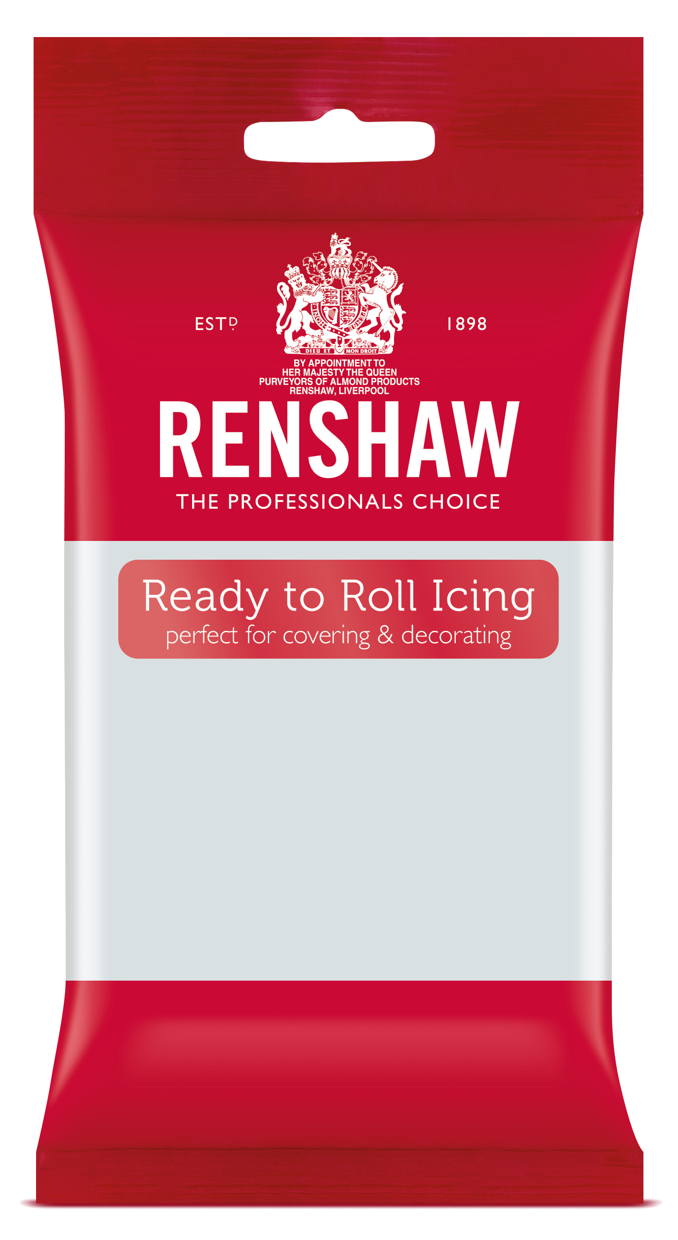 Cool Grey Ready to Roll Fondant Icing 250g