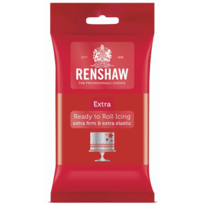 Renshaw Extra Red Ready to Roll Icing 250g