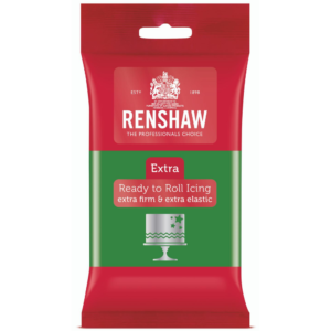 Renshaw Extra Green Ready to Roll Icing 250g