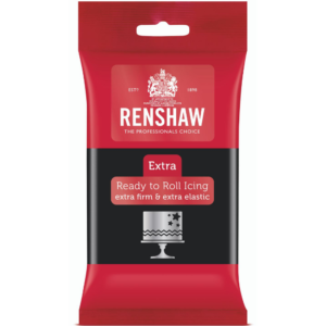 Renshaw Extra Black Ready to Roll Icing 250g