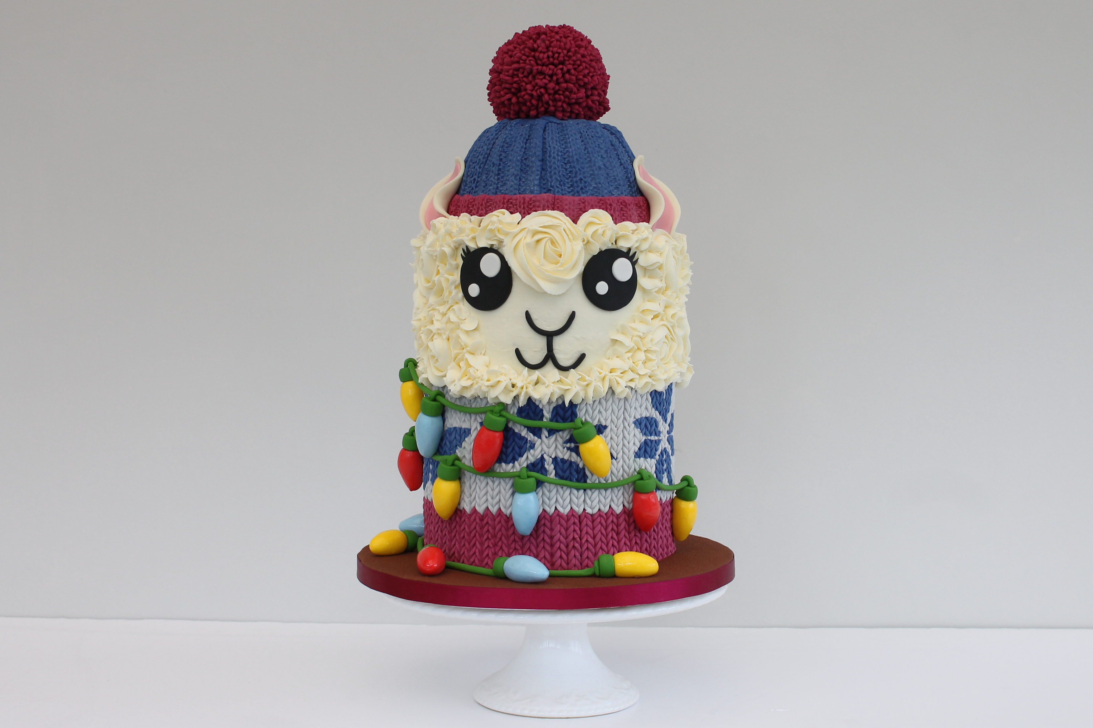 Festive Llama Cake by Rob Baker-Gall