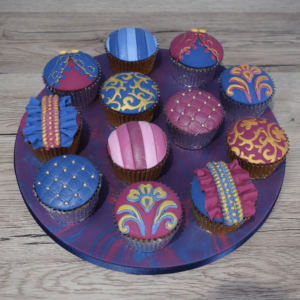 Textured and Patterned Cupcakes