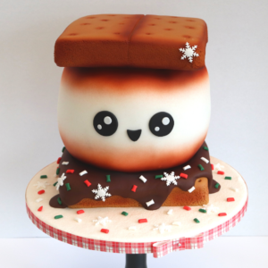 Festive S'mores Cake by Rob Baker-Gall