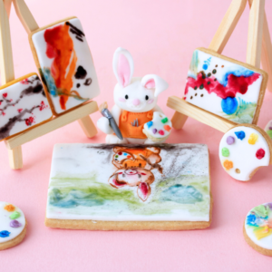 Kim-Joy's Shortbread and Sugarpaste Easels and Paintings