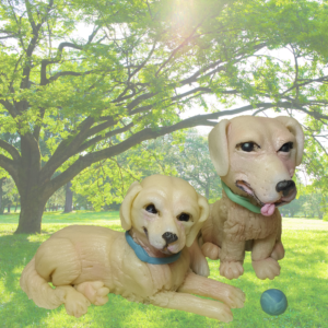 Scamp and Sweetie Marzipan Puppies