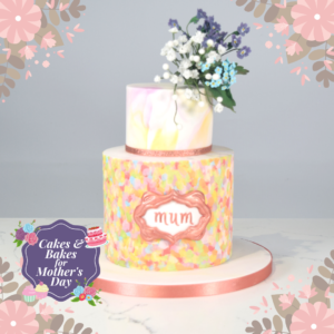Mother's Day Plaque Cake by Francezka Bell
