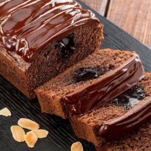Chocolate Almond Loaf Cake