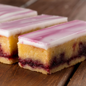 Morello Cherry Almond Slice