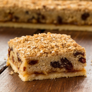 Muesli Almond Slice